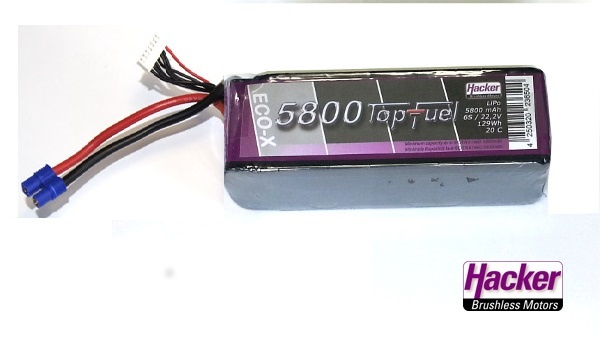 TopFuel LiPo 20C-ECO-X 5800mAh 6S