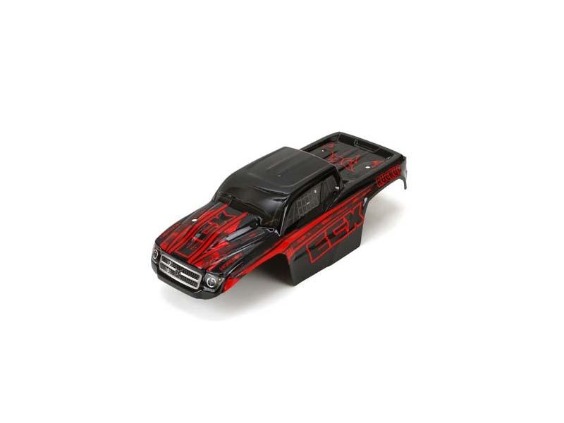 ECX Karosserie, beklebt: Mini Ruckus