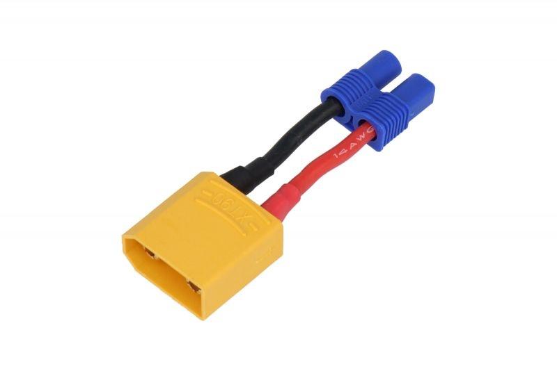 Adapter XT90 Stecker auf EC3 Buchse