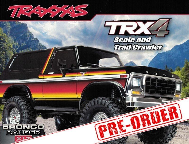 TRX-4 Bronco Ranger XLT 1/10 Scale Crawler RTR - Preorder