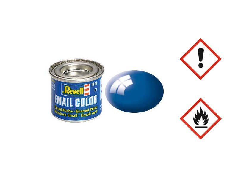 Email Color blau, glänzend 14ml