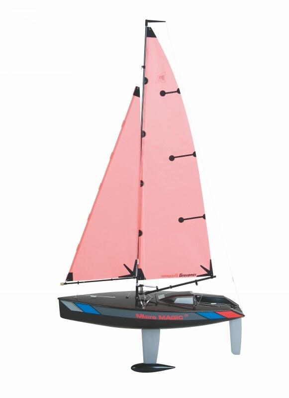 WP RACING MICROMAGIC Carbon E. Segelboot