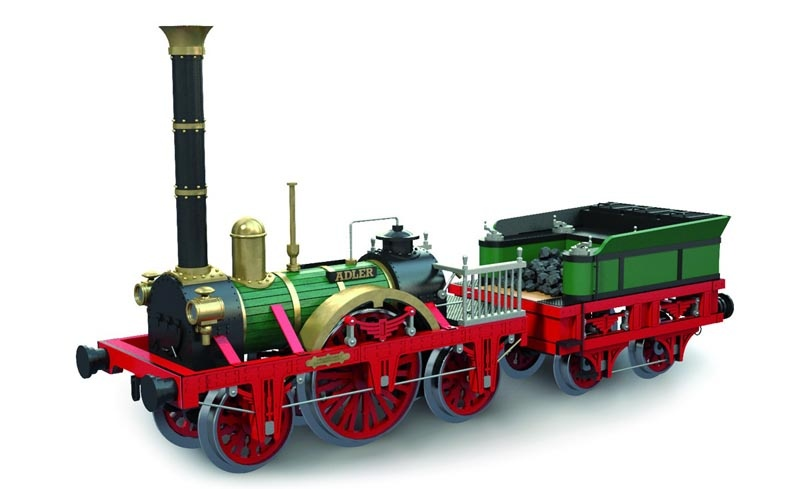 Adler 1:24 Lokomotive Bausatz