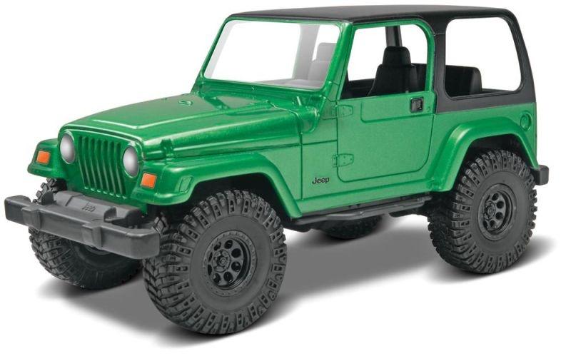 Jeep Wrangler Rubicon SnapTite Bausatz 1:25