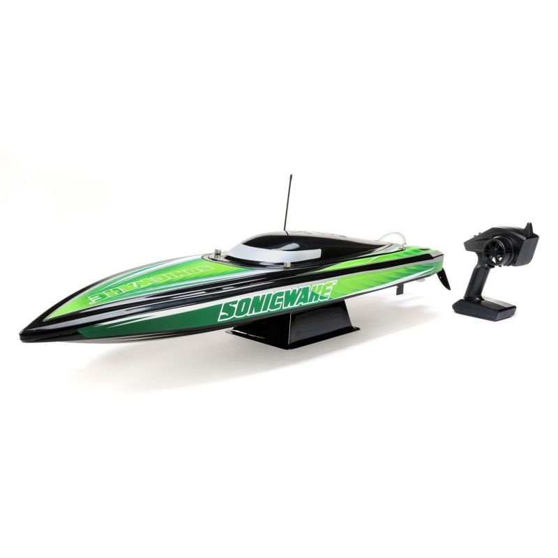 Sonicwake 36, Wht Self-Right Deep-V Brushless Rennboot RTR