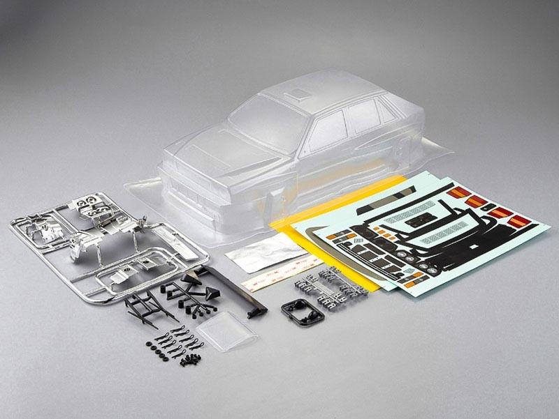 Lancia Delta HF Integrale, klare Karosserie, Kit all-in