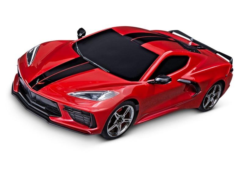 Corvette Stingray 4TEC 3.0 4WD Tourenwagen 1:10 rot