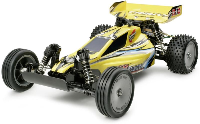 Sand Viper 2WD RC Buggy 1/10 DT-02 Baukasten
