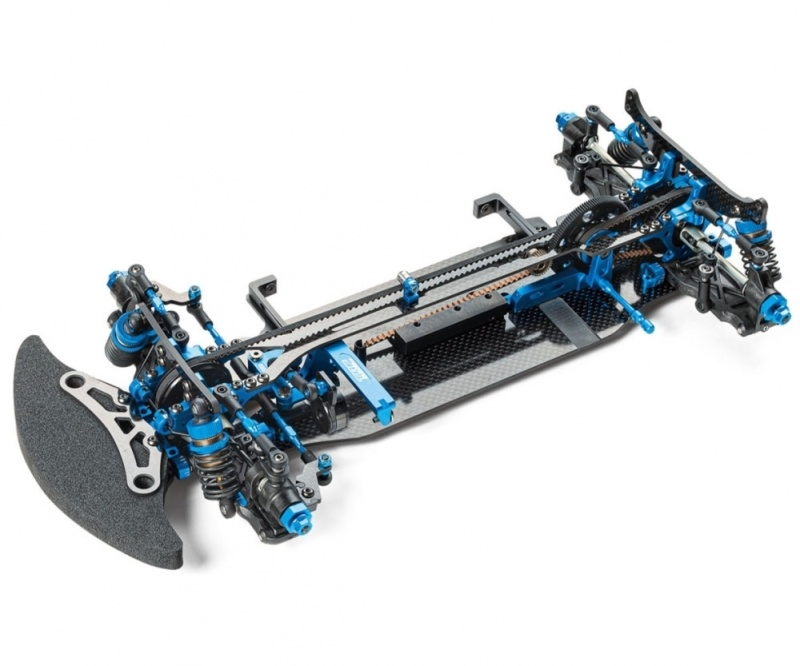 TRF420 1/10 On-Road Wettbewerbsmodell 4WD Chassis Bausatz