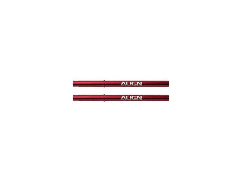 100 Hauptrotorwelle Aluminium rot