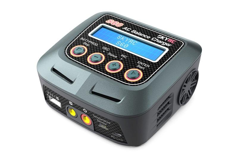 Ladegerät S60 AC LiPo 2-4s 5A Nachfolger: sk100152