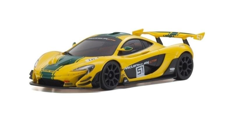 Mini-Z Karosserie McLaren P1 GTR gelb-grün (W-MM)