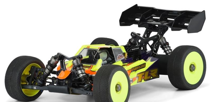 Axis Karosserie (klar) 1:8 Buggy TLR 8ight-X Nitro