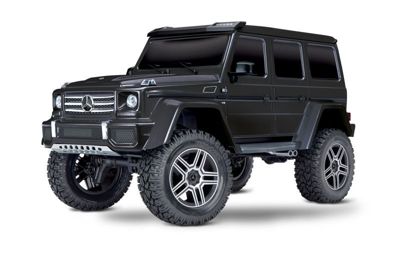 TRX-4 Mercedes G500 4x4 1/10 Scale & Trail Crawler RTR black