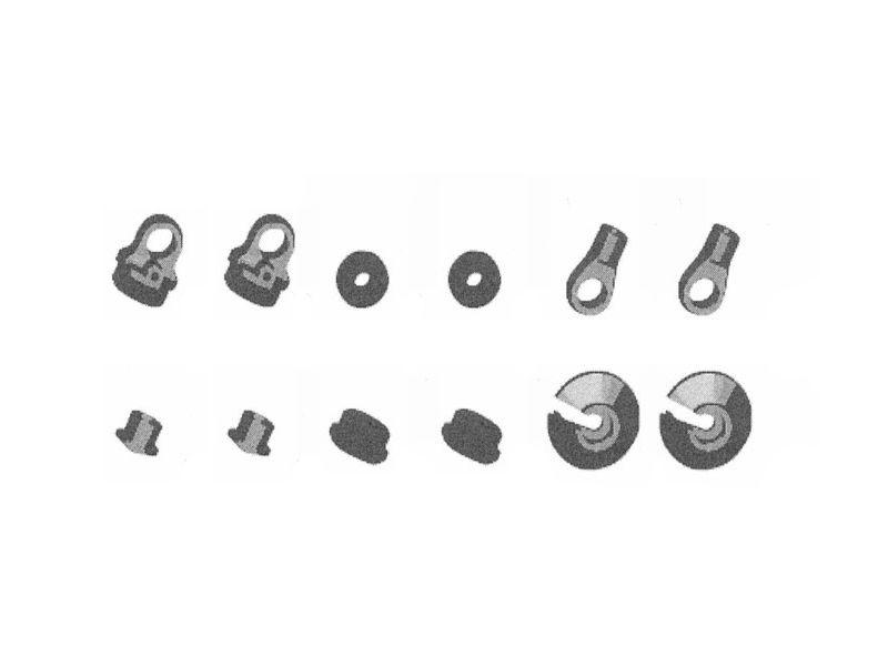 Kunststoffteile für Stoßdämpfer
