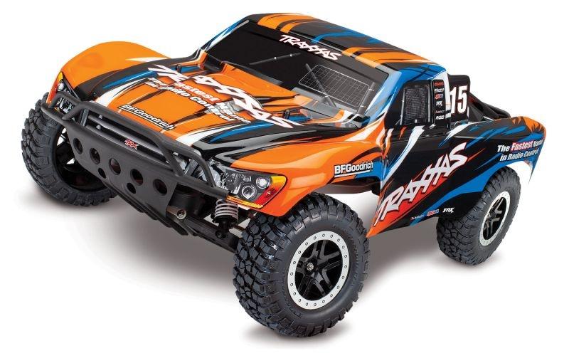 Slash VXL 1/10 +TSM SC Racing Truck Brushless Orange Edition