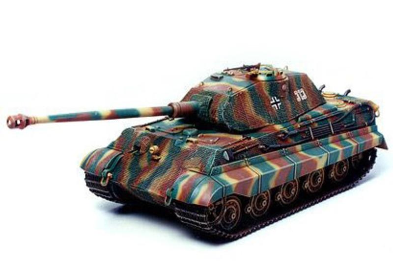 Königstiger Porsche WWII SdKfz.182 Panzer Bausatz 1/35
