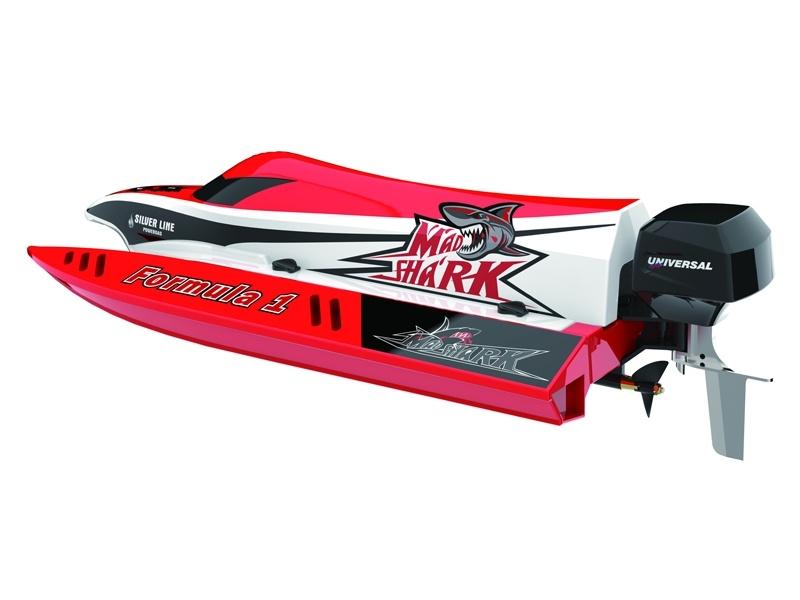 F1 Boot Mad Shark V2 Brushless 2.4 GHz RTR