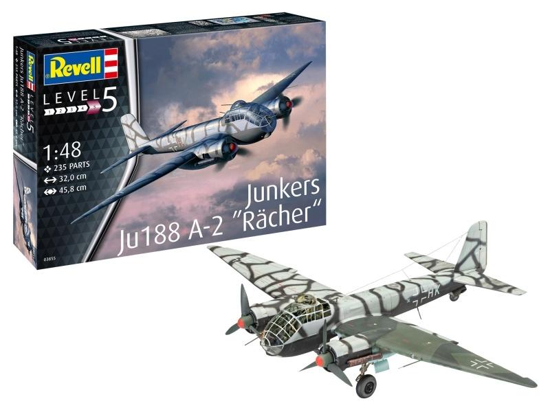 Junkers Ju 188 A-2  Rächer  Bausatz 1:48