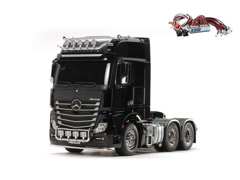 Mercedes Benz Actros 3363 Giga Space 6x4 + LED-Lichtset