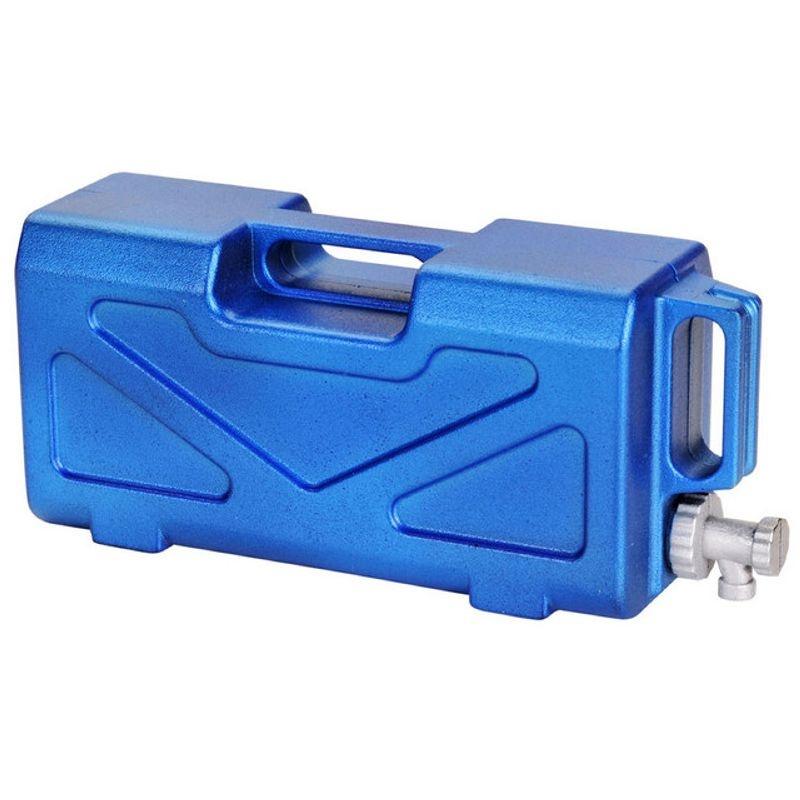 Wassertank 1:10 blau-lackiert