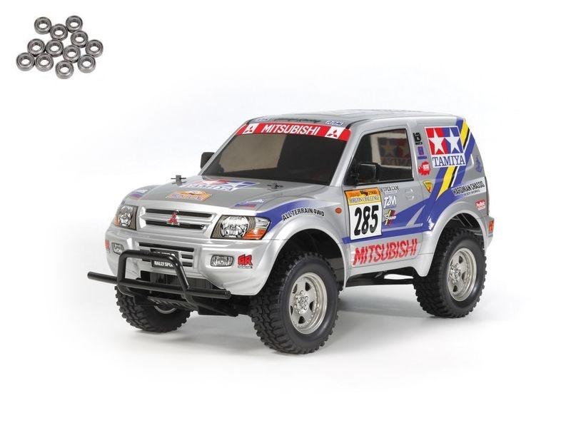 Mitsubishi Pajero Rally Sport 1:10 Bausatz CC-01 4WD + Lager