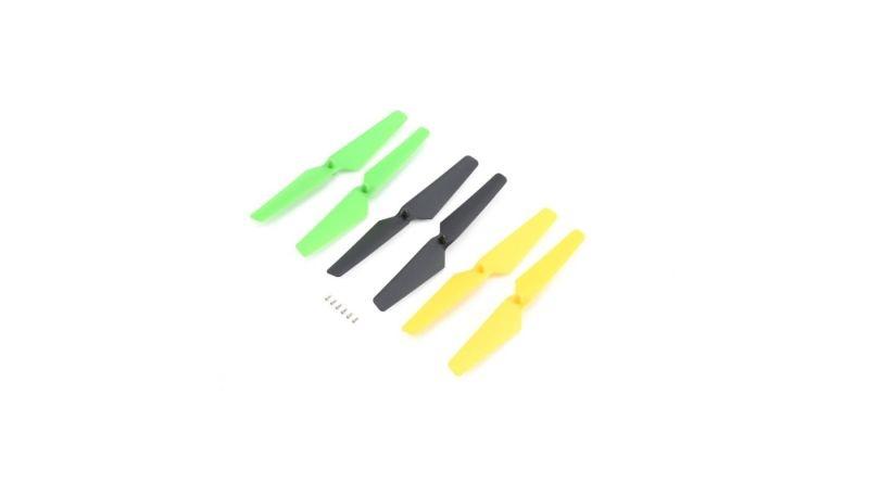 Blade Propellerset, gelb/grün/schwarz: Zeyrok