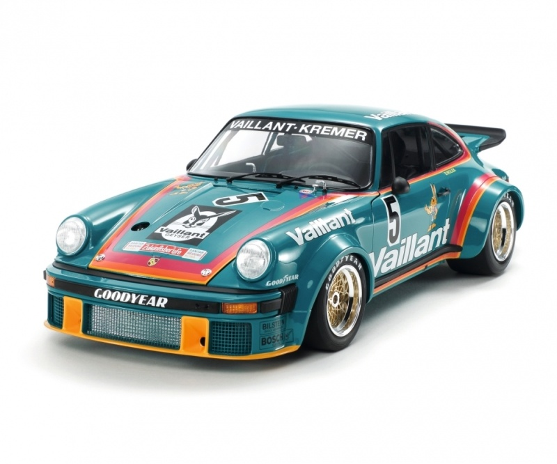 Porsche 934 Vaillant Plastikbausatz 1:12