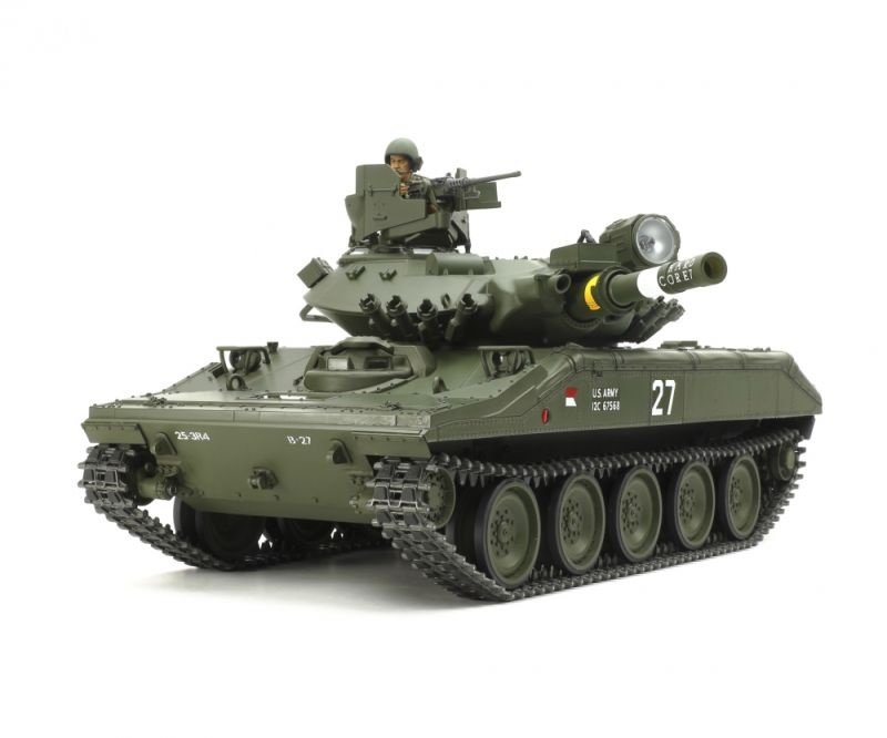 US M551 Sheridan Kit Full Option 1/16 RC Panzer