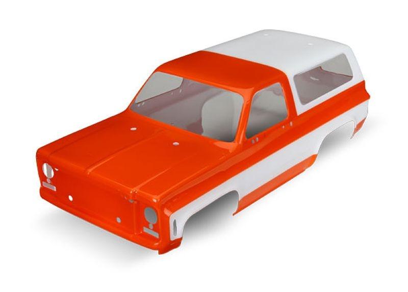 Blazer Karosserie orange lackiert für TRX-4 Blazer