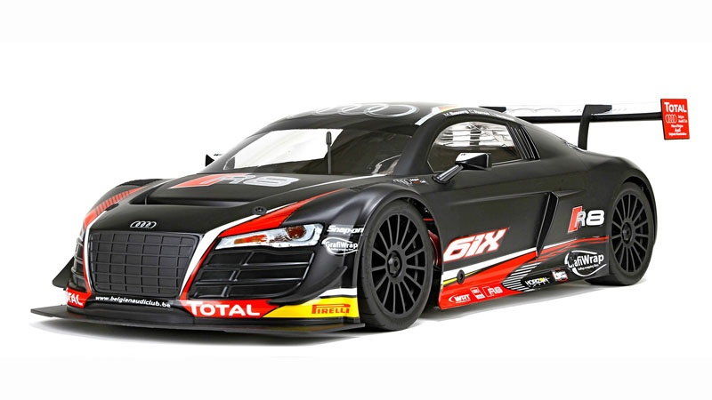 Audi R8 LMS Ultra FIA-GT3 DX2E RTR Brushless AVC 1/6 4WD bis