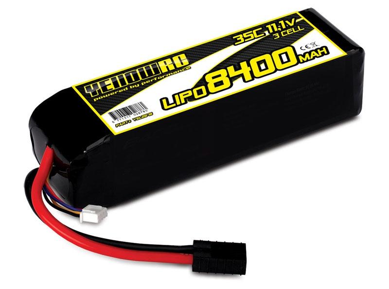 LiPo 8400mAh 11.1V 3S 35C , Spartan Slash & Slash 4x4 X-Maxx