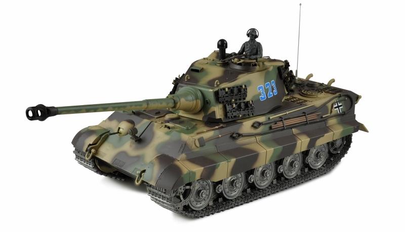 Königstiger Henschel-Turm 1:16 Panzer Advanced Line IR/BB