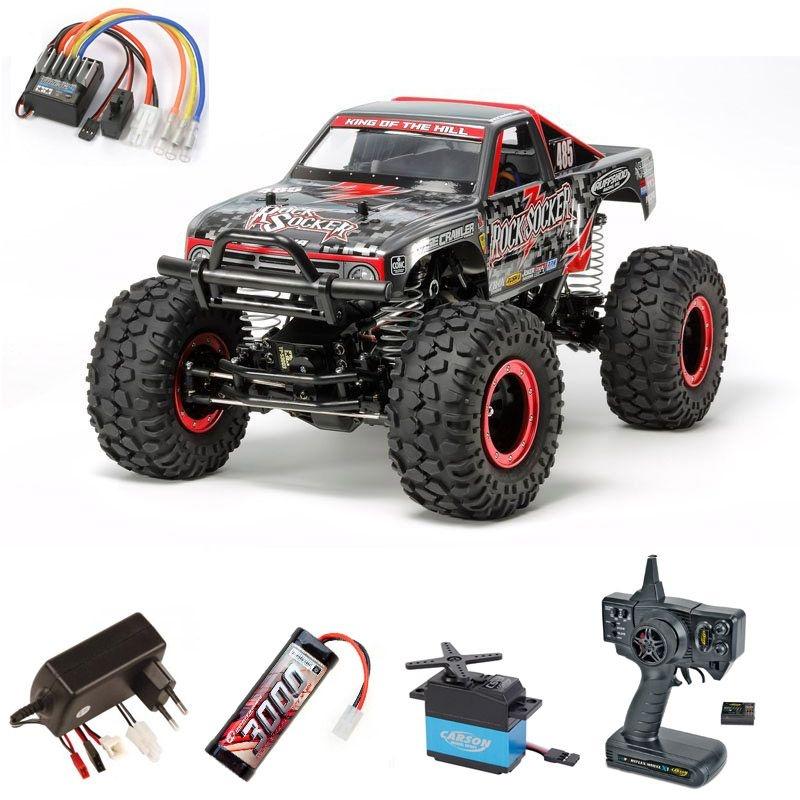 Rock Socker CR-01 4WD Crawler 1/10 2,4 Ghz Kit Komplettset