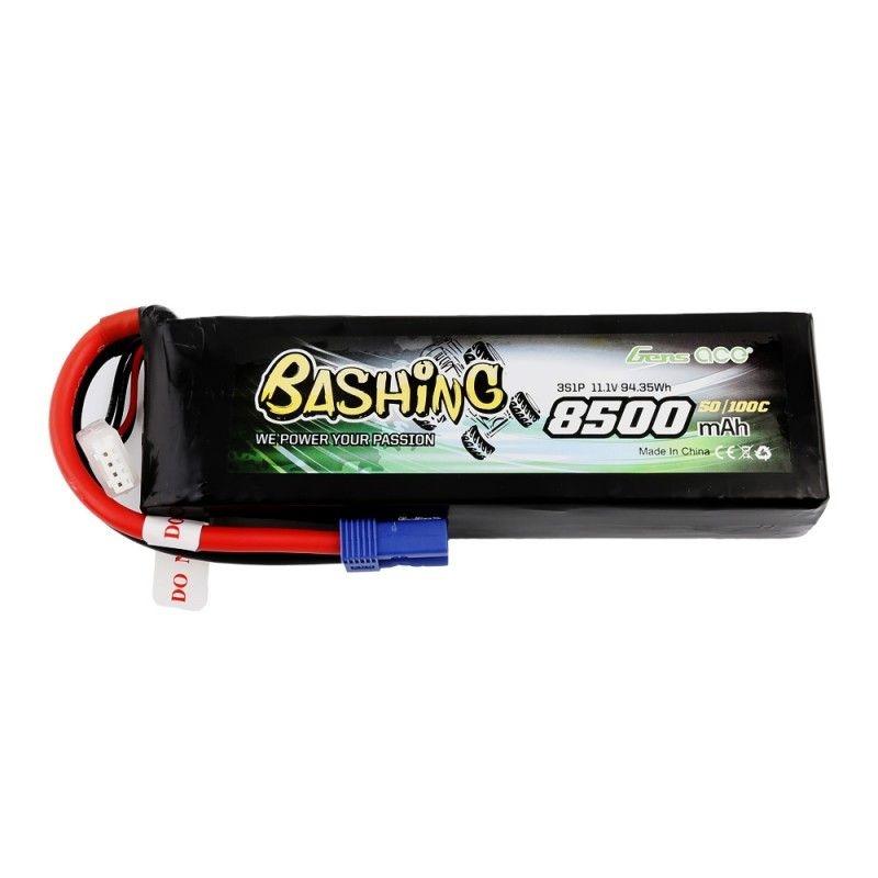 3S Bashing LiPo Akku 8500mAh 11,1V 50/100C mit EC5