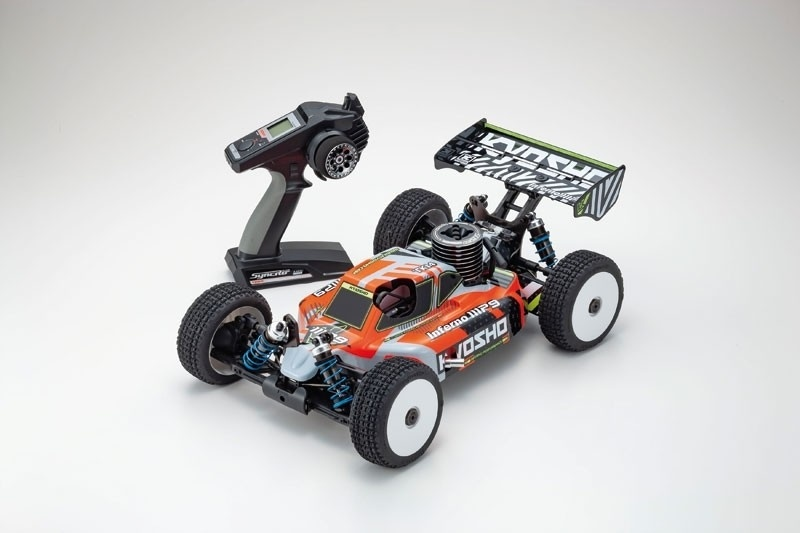 Inferno MP9 TKI4 V2 4WD Buggy 1:8 Nitro KE21SP 2,4GHz RTR