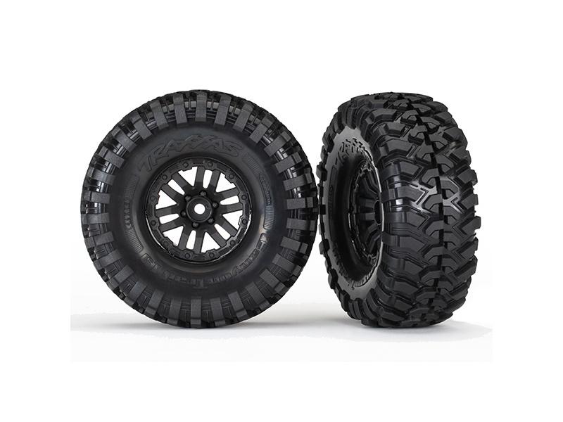 Reifen auf Felge verklebt TRX-4 Felge, Canyon Trail 1.9