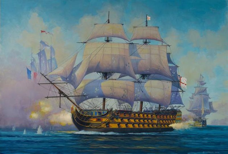 Admiral Nelson Flagship 1:450