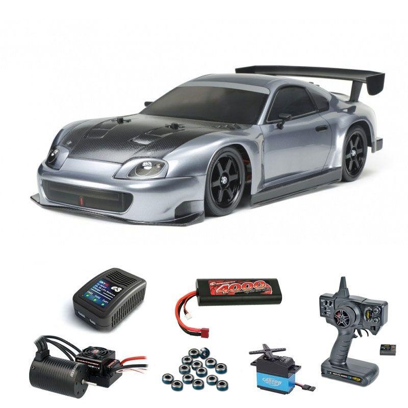 Toyota Supra Racing (A80) 4WD 1/10 TT-02 Brushless Set