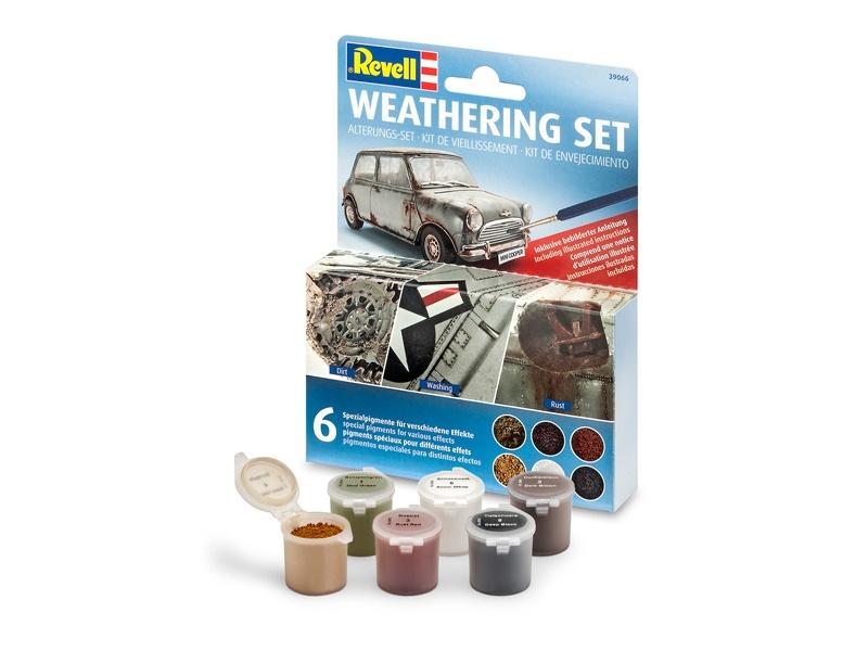 Weathering Set (6 Pigmente)