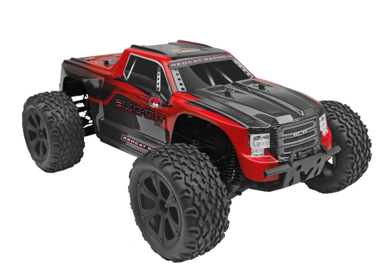 Blackout XTE 4WD Monster Truck 1/10 Brushed 2,4GHz RTR