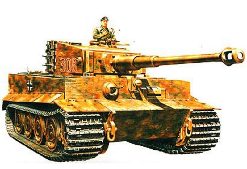 SD.Kfz. 181 Panzer VI Tiger 1:35