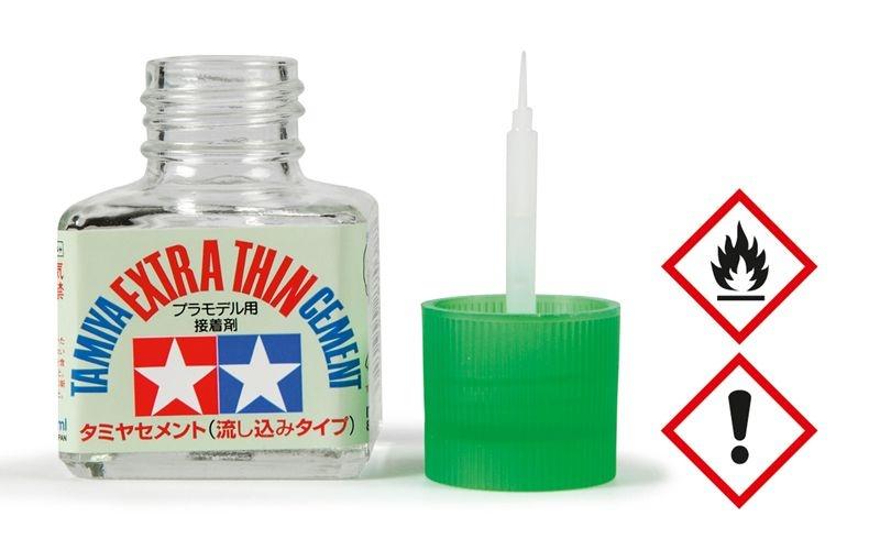 Plastikkleber 40ml extradünn Tamiya