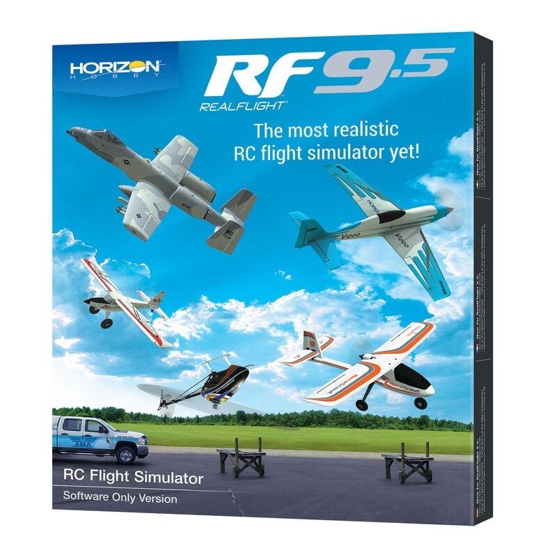 RealFlight 9.5 Flug Simulator, Nur Software