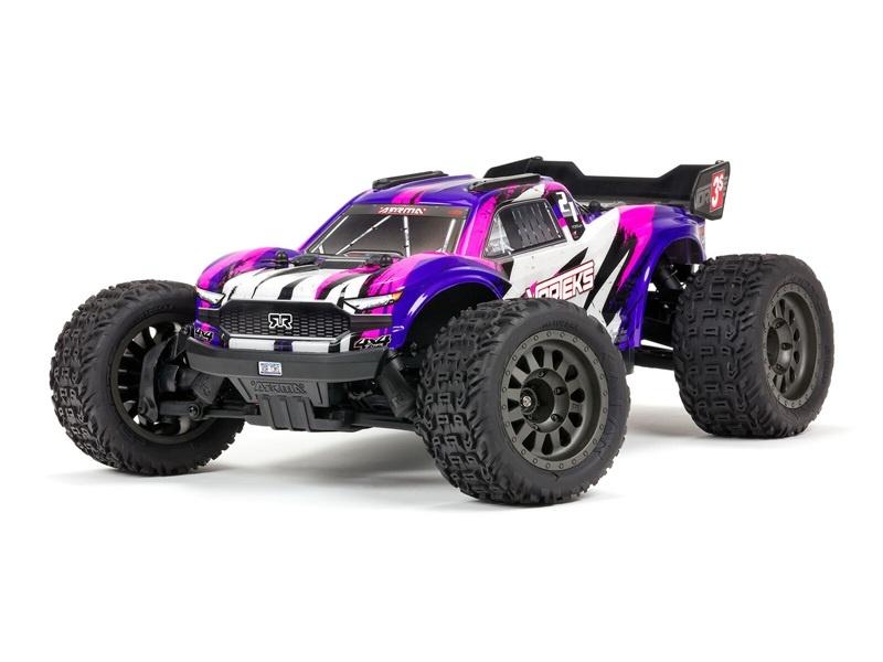 VORTEKS 4X4 3S BLX 1/10 Stadium Truck Spektrum RTR purple