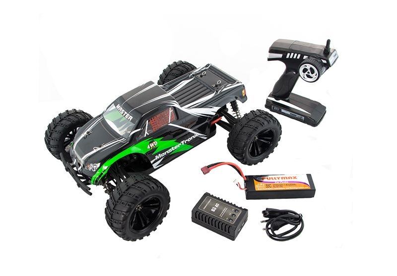 Monstertruck Hornet Pro 1:10 4WD BL RTR+LiPo+Lader bis 70kmh