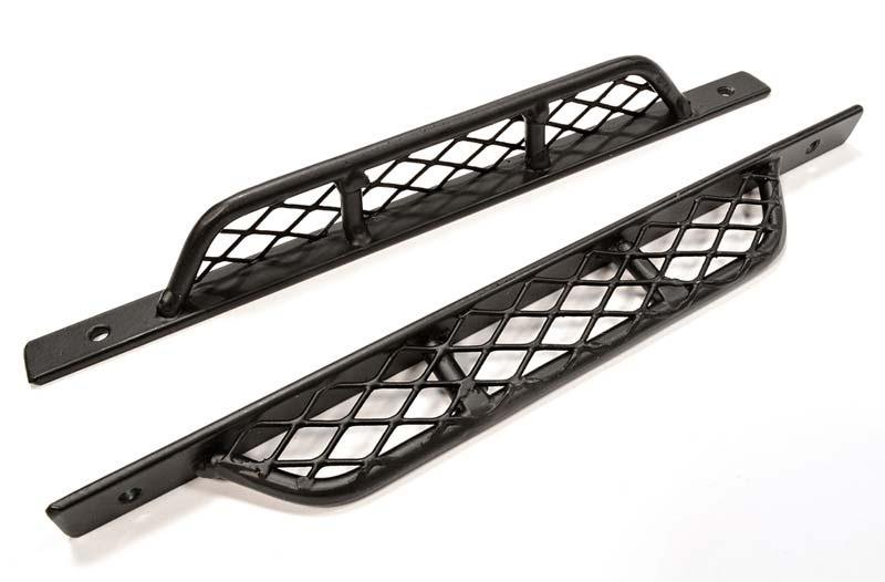 Realistic Stahl Seiten-Trittleisten für 1/10 Scale Crawler