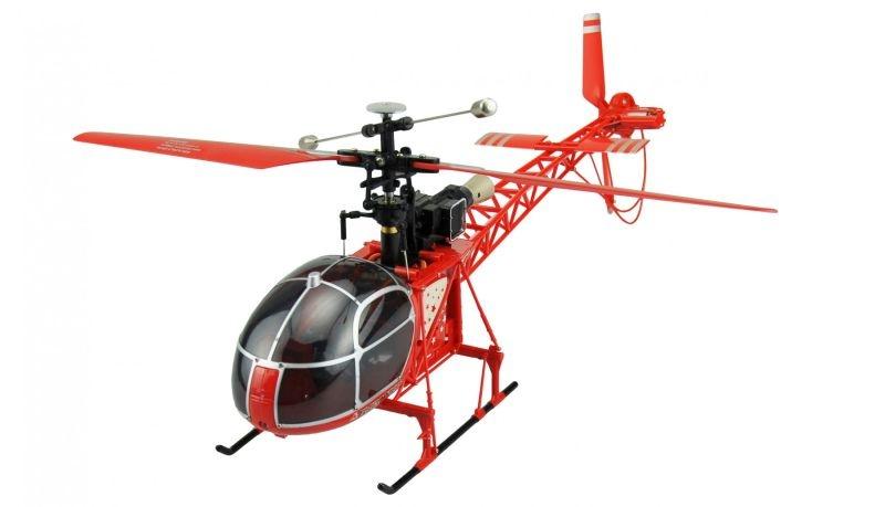 Lama Helikopter mit 24GHz 4-Kanal Fernsteuerung RTR