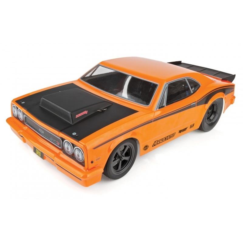 DR10 Drag Race Car Brushless 1:10 2,4Ghz RTR, Orange