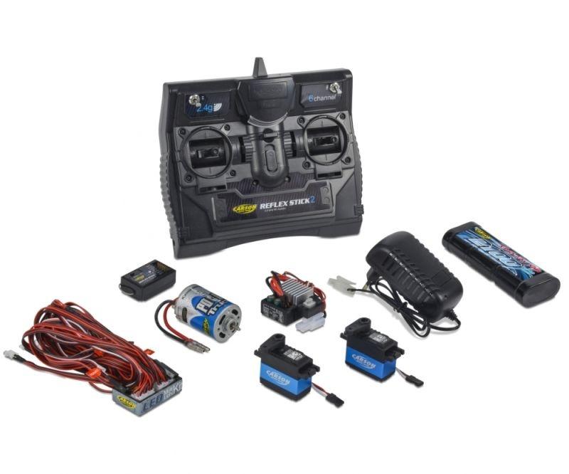 Reflex Stick Fernsteuerung Truck-Set 2.4G 6 Kanal